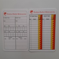 Referee Note Cards